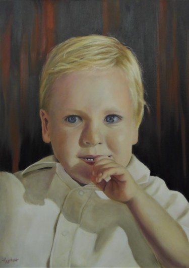 """Billy"" by Ageliki, 50X70cm, oil on canvas"