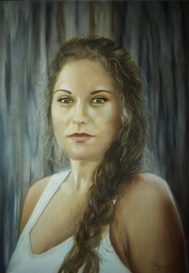 Danai by Ageliki, 50X70cm, oil on stretched canvas