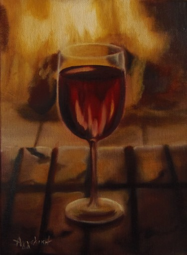 """A glass of wine"""